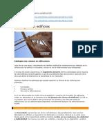 Patologías Frecuentes en La Construcción