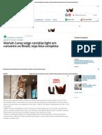 Mariah Carey Exige Comidas Light Em Camarim No Brasil; Veja Lista Completa _ Jaru Online _ a Sua Revista Eletrônica!