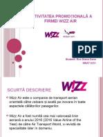 Activitatea Promoțională a Firmei Wizz Air