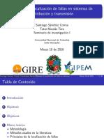 Metodos de localización de fallas en sistemas de distribución y transmisión