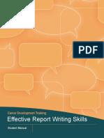 effective report writing skills