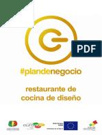 Ejemplo Plan Restaurante Cocina Diseño