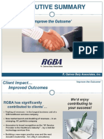 RGBA Executive Summary HC 2016