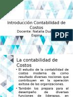 Introducción Contabilidad de Costos