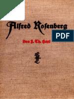 HartFranzTheodor AlfredRosenberg DerMannUndSeinWerk3.Aufl.193758S.