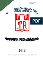 Carpetapedagogica2015 Ta