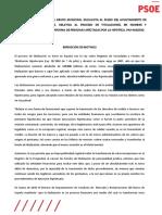 Propuesta Relativa Al Proceso de Titulaciones PAH