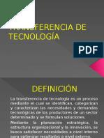 Transferencias de La Tecnologia
