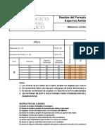 TecNM-D-AM-PO-001-01 Matriz de Evaluacion de Aspectos Ambientales Significativos