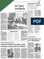 """""""Puertas Abiertas"""" Para Tratar Ley Universitaria - EL PERUANO"""