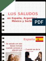 LOS SALUDOS Prezentacija