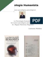 La Psicología Humanista