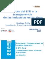 Aportes Del EITI a La Transparencia de las Industrias Extractivas
