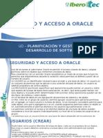 Seguridad y Acceso a Oracle