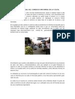 Estado Actual Del Comercio Imformal en La Costa