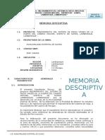 Memoria Descriptiva Guia