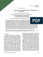 Nvel Detection Method for Acoustic Emission Using a SPM
