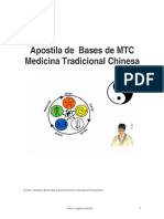 ⭐Apostila de Bases de MTC Medicina Tradicional Chinesa