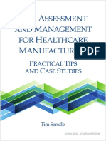 Risk Management for Healthcare Manufacturers
