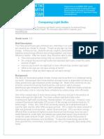 2...... - Comparing Light Bulbs