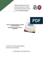 Ensayo Reforma Al Codigo Organico Tributario PDF