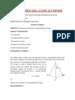 Ejemplo de Informe de Laboratorio de Física Péndulo Simple JAS