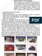 Unidad II Minerales Que Forman la Tierra