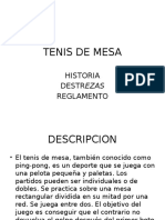 Clase Tenis de Mesa