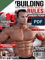 Magazine bodybuilding rules n° 16