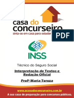 Apostila Inss 2015 Conformeedital Interpretacaodetextoeredacaooficial Mariatereza