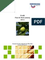 Pan de Fruta Masa 2014
