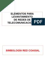 Simbología de Red Coaxial