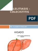 COLELITIASIS COLECISTITIS