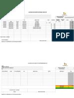 Formato de Liquidacion Movilidad - Viaticos - Gastos Por Representacion