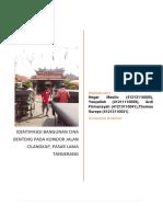Identifikasi Bangunan Cina Benteng Pada Koridor Jalan Cilangkap