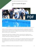 2/10/16 Entregan Remodelación en Paseo de Aguas Termales en Aconchi - Opinión Sonora