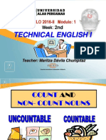 Ayuda 2.3. Countable Nouns Gender and Number