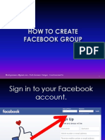 How to Create FBGroup