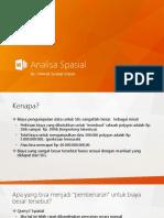 08 - Analisa Spasial