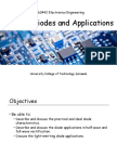 Topic 2 - Diodes and Applications