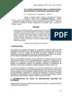 Normatizacion de La Toma de Muestras Para La Investig de p…