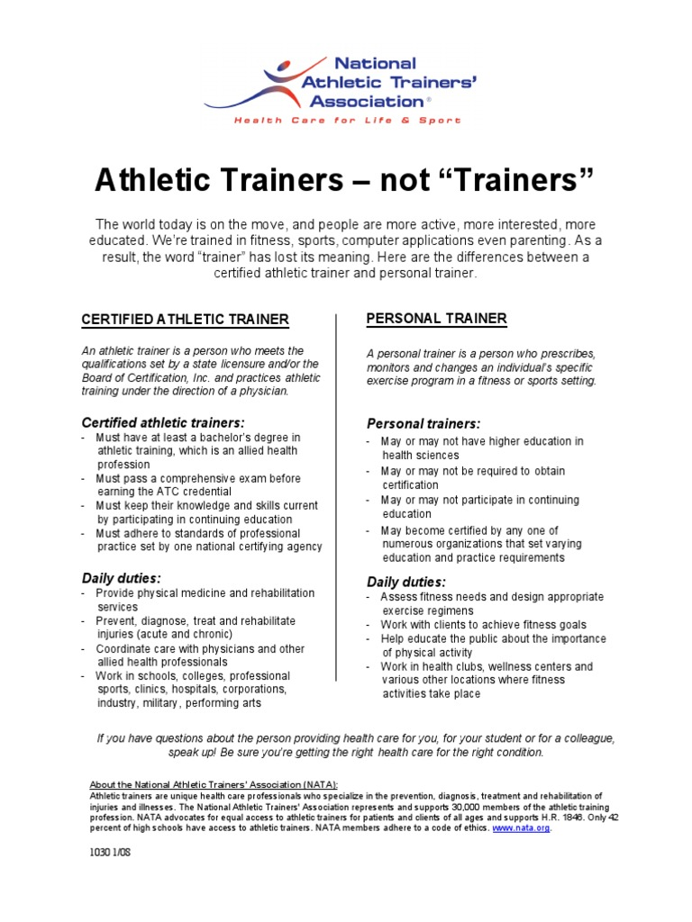 Ats vs pts personal trainer professional certification 1betcityfo Choice Image