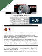 Copywriting Skills Intensive