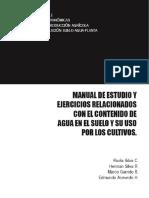 Manual de Estudio y Ejercicios Relacionados Con El Contenido de Agua