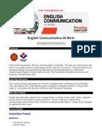 English Communication at Work