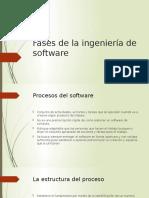 Fases de La Ingeniería de Software