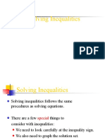 Solving Inequalities PPT 2016-2017