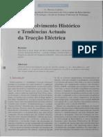 Desenvolvimento Histórico e Tendências Actuais Da Tracção Eléctrica