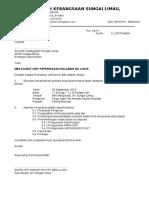 Surat Panggilan Mesyuarat Unit Peperiksaa Kali 4 2016