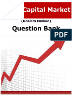 Capital Market Questions Bank